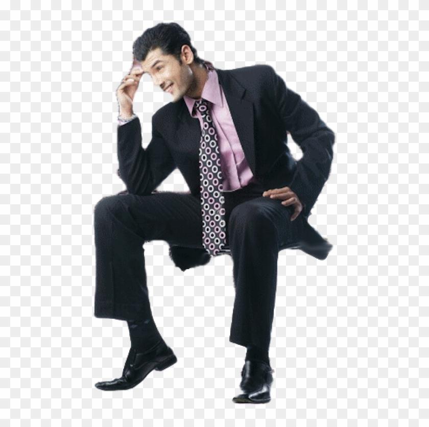 Sitting Man Png Free Download.