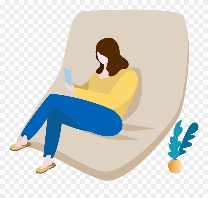 Sofa Home Character Warm Png And Vector Image.