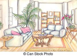 Living room Stock Illustrations. 59,948 Living room clip art.