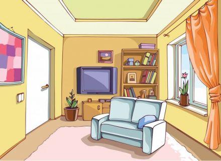 Pin Messy Room Cartoon on Pinterest, Toys Clip Art Living Room.