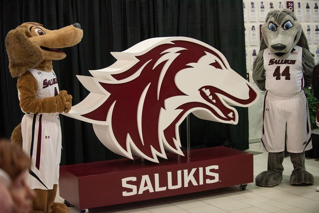 Saluki Athletics unveils new, more modern logo.