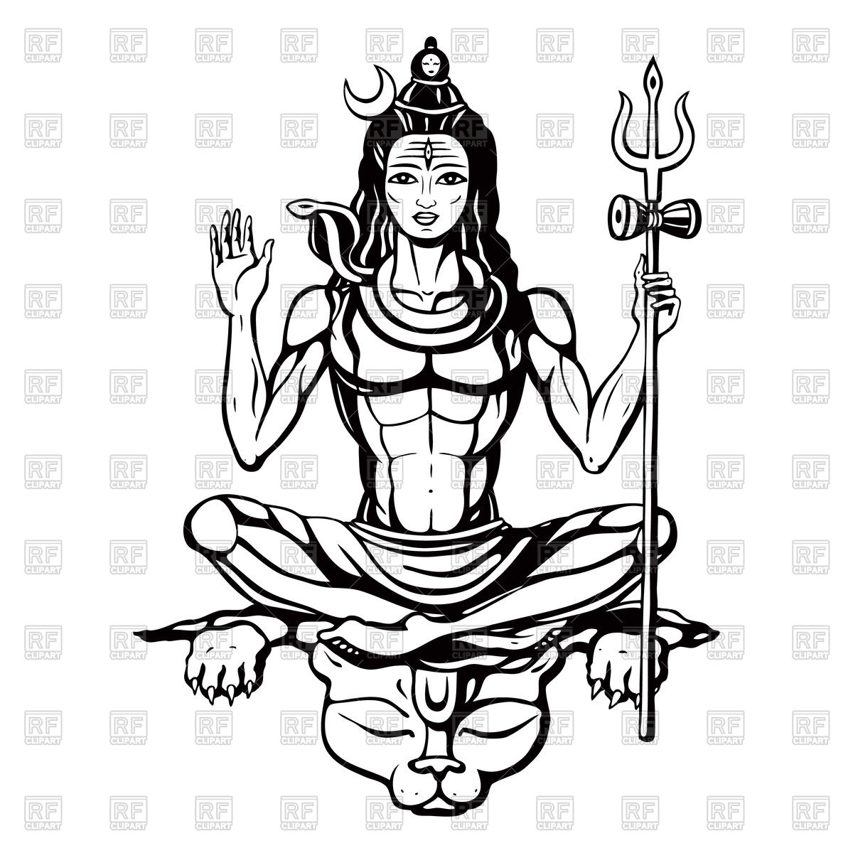 Images Lord Shiva Clipart.