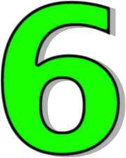 Six Clipart.