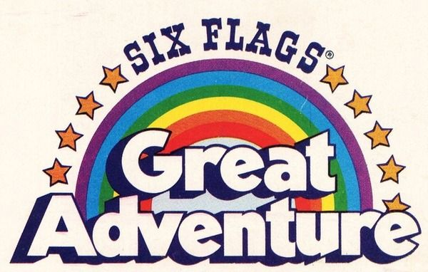 Six Flags Great Adventure Logo in 2019.