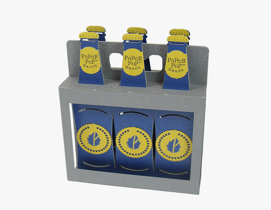 Transparent Six Pack Beer Clipart.