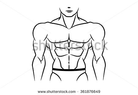 Six Pack Abs Stock Photos, Royalty.