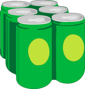 Six Pack Clipart.