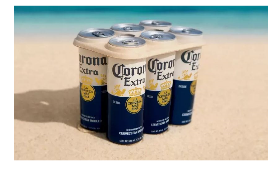Corona Tries Out Plastic.