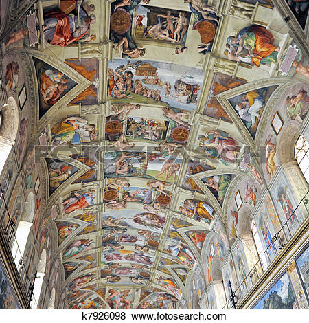 Pictures of sistine chapel k7926098.