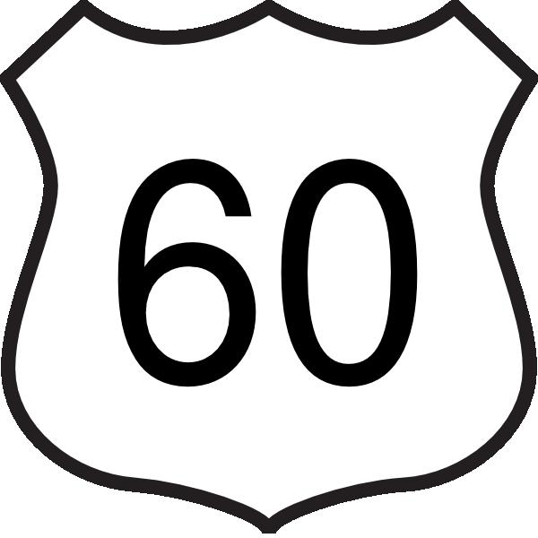 Highway 60 Clip Art at Clker.com.