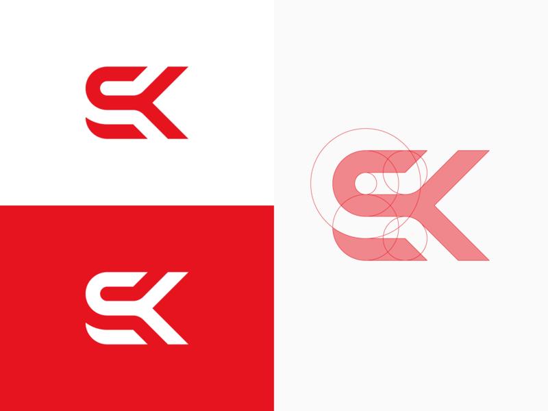 SK Monogram by Jake on Dribbble.