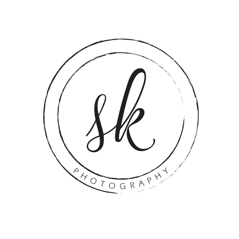 Simple, Elegant Circular Photography Logo Watermark by.