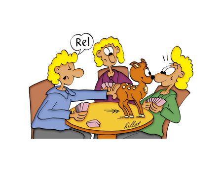 Skat Cartoon .:.