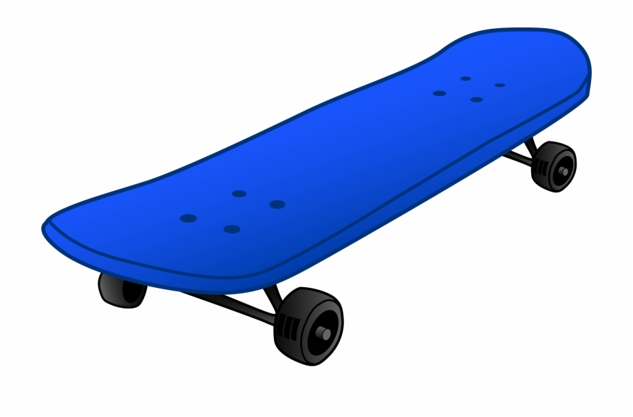Skateboard Clipart Free PNG Images & Clipart Download.