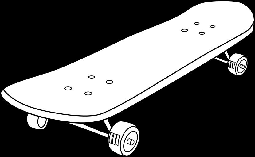 Skateboard 2 clip art at vector clip art image.