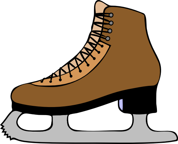 Ice Skate Clipart Free.