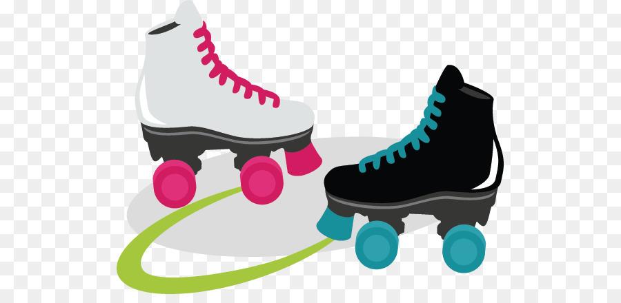 skate night clipart #5