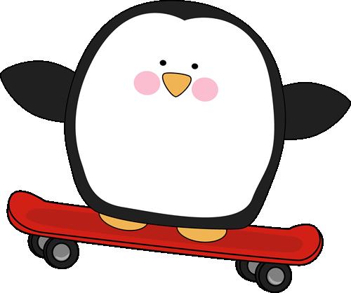 Skateboard clipart graphics.
