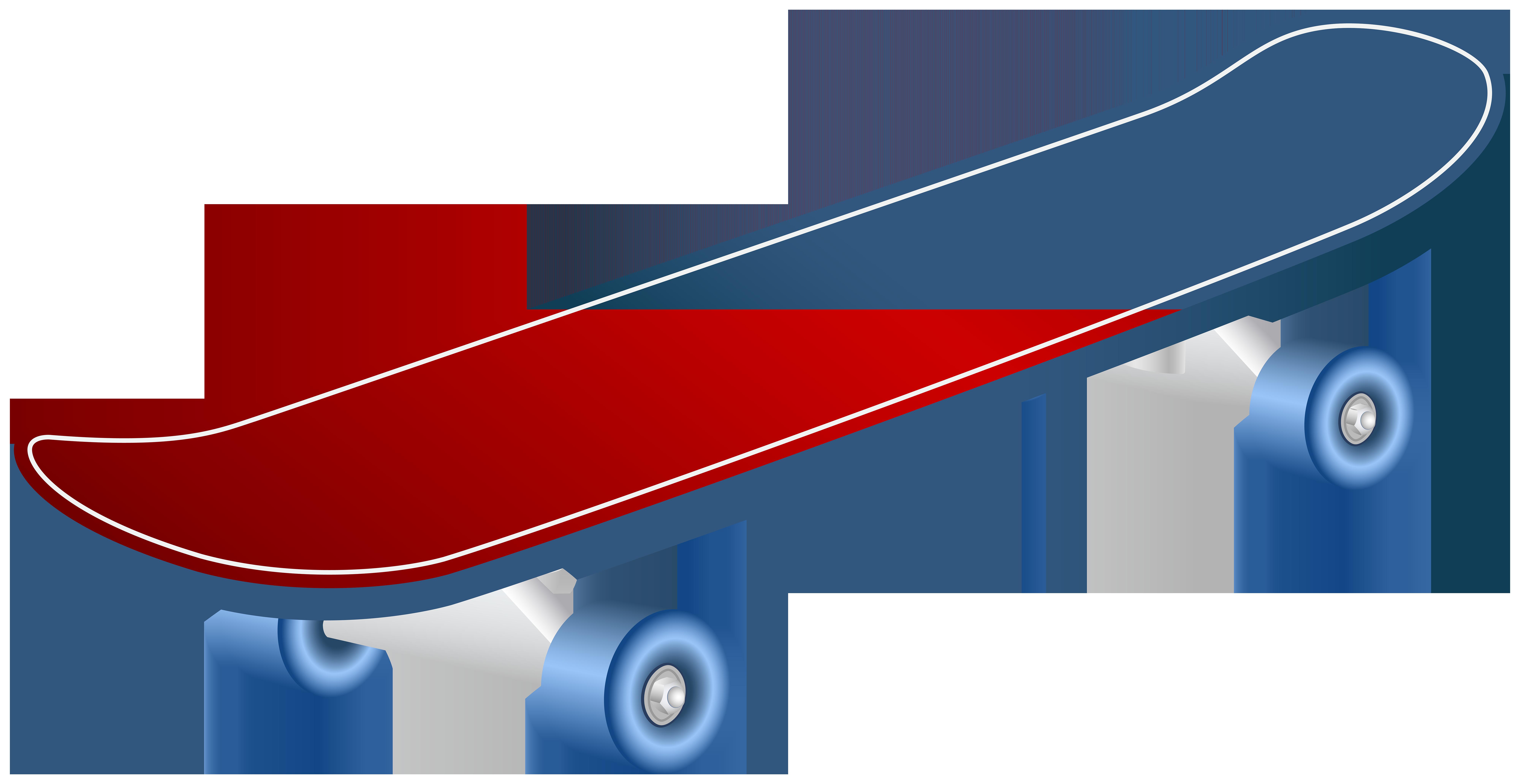 Skateboard Clip Art Image.