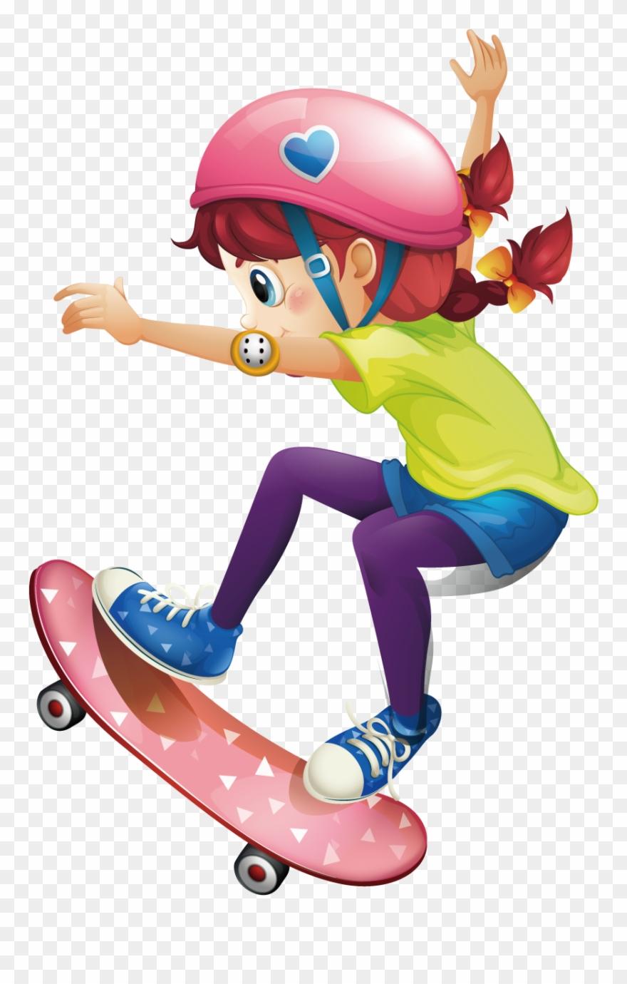 Skateboard Clip Palace.