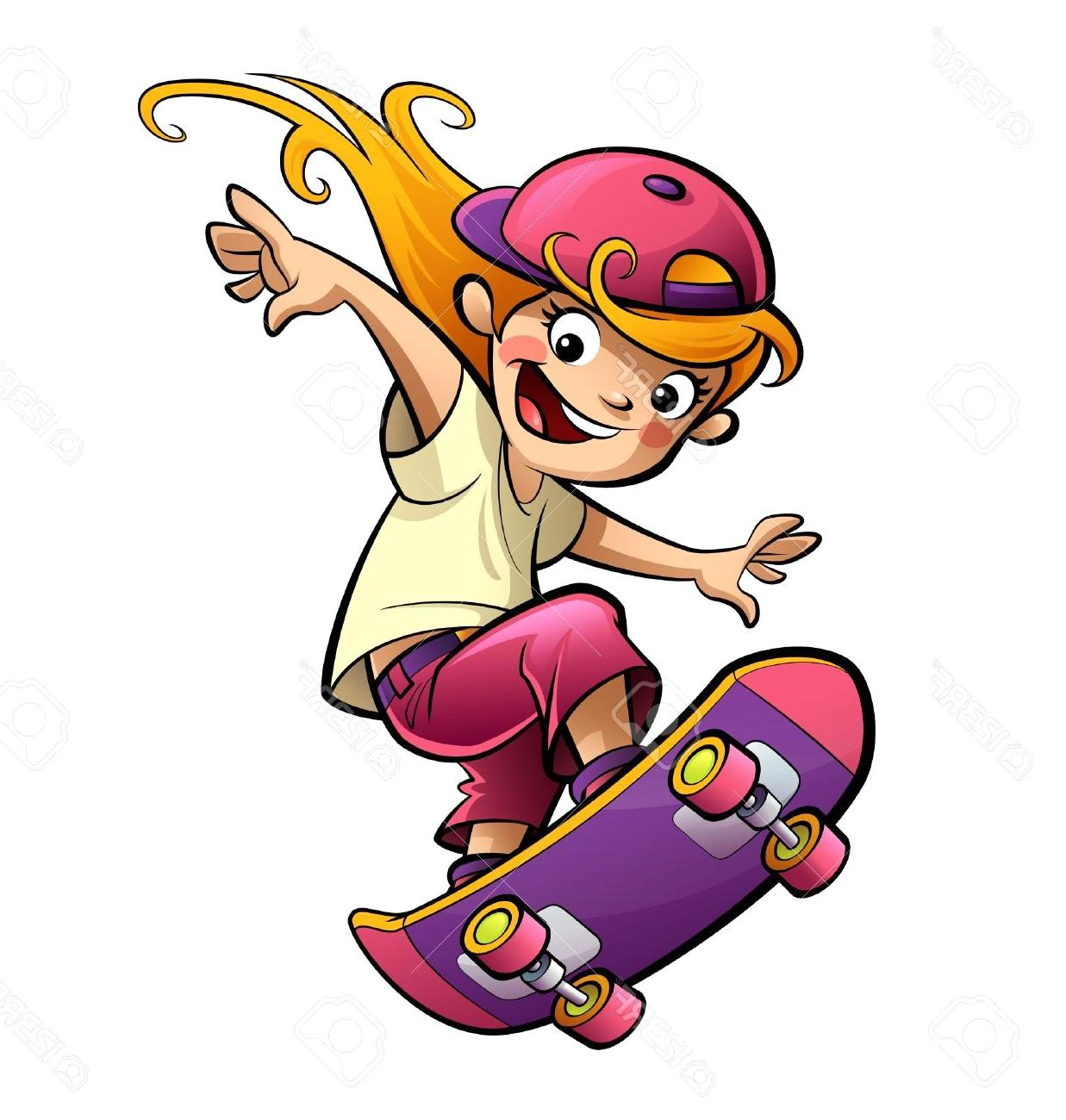 Best HD Skateboard Clipart Library » Free Vector Art, Images.