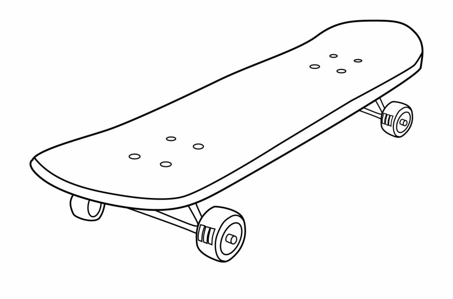 Skateboard Clipart.