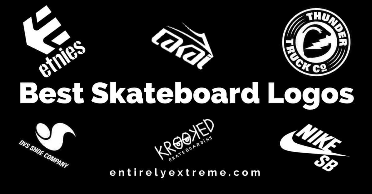 50 Best Skateboard Logos.