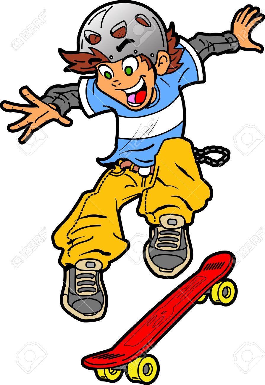 Skateboard Image.