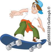 Skateboard Clip Art.
