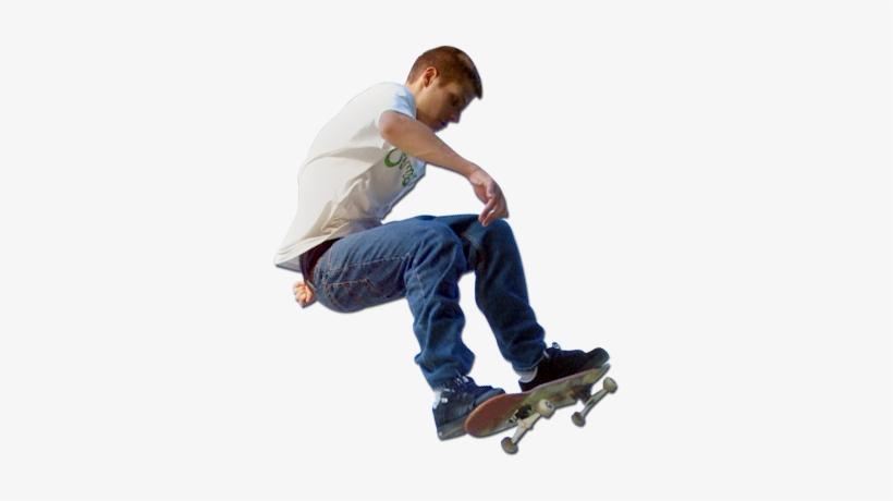 Skateboarder PNG Images.