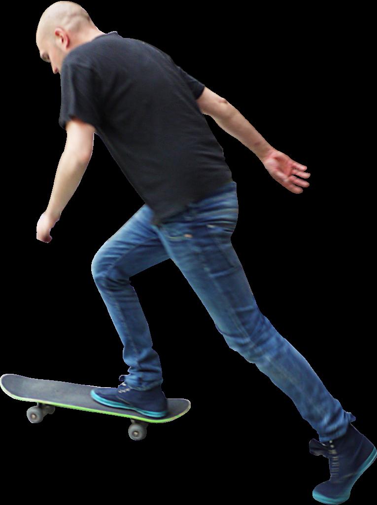 Skateboard PNG Image.