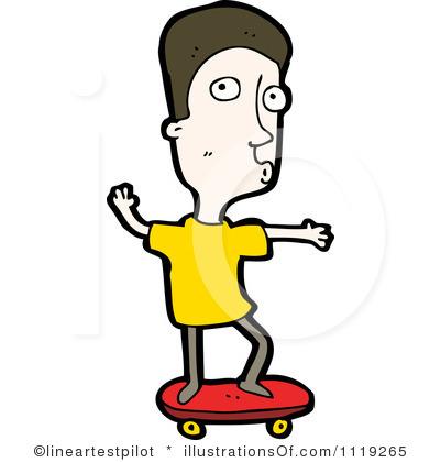 Skateboarding Clip Art Free.