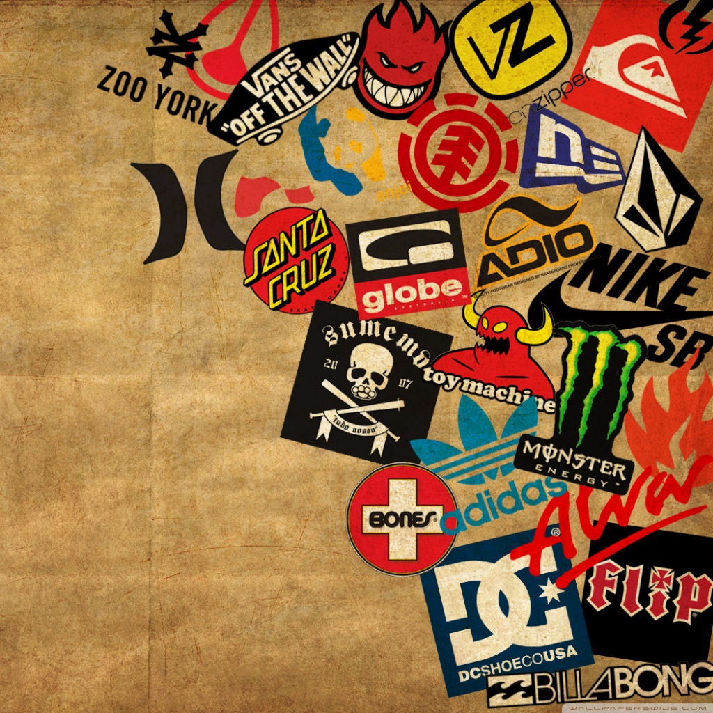 Skateboard Logos Ultra HD Desktop Background Wallpaper for.