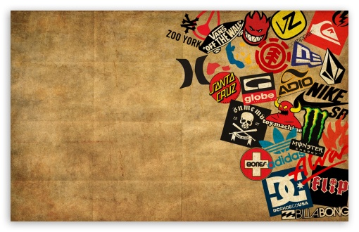 Skateboard Logos Ultra HD Desktop Background Wallpaper for.