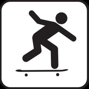Skater Clipart.
