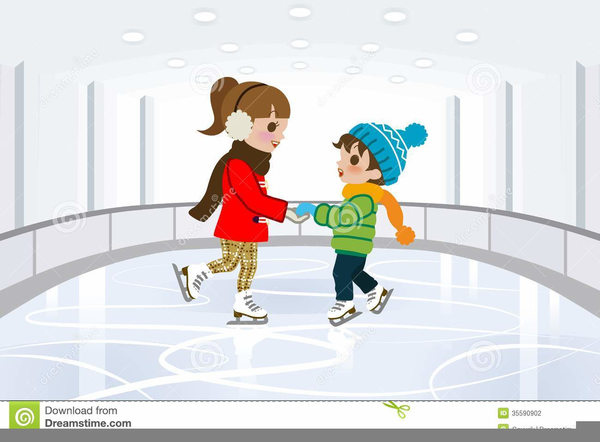Ice Rink Clipart.