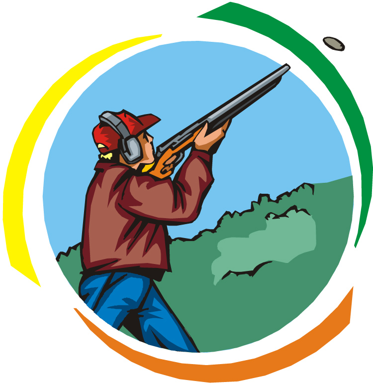 Skeet shooting clipart 1 » Clipart Station.