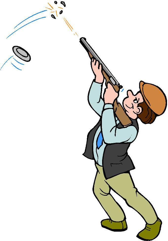 Skeet shooting clipart 4 » Clipart Portal.