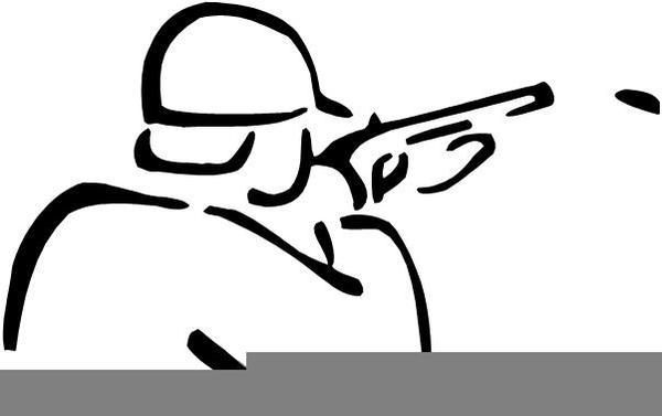 Free Skeet Shooting Clipart.