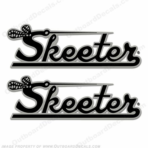 Skeeter Boat Logo Decal (Set of 2).