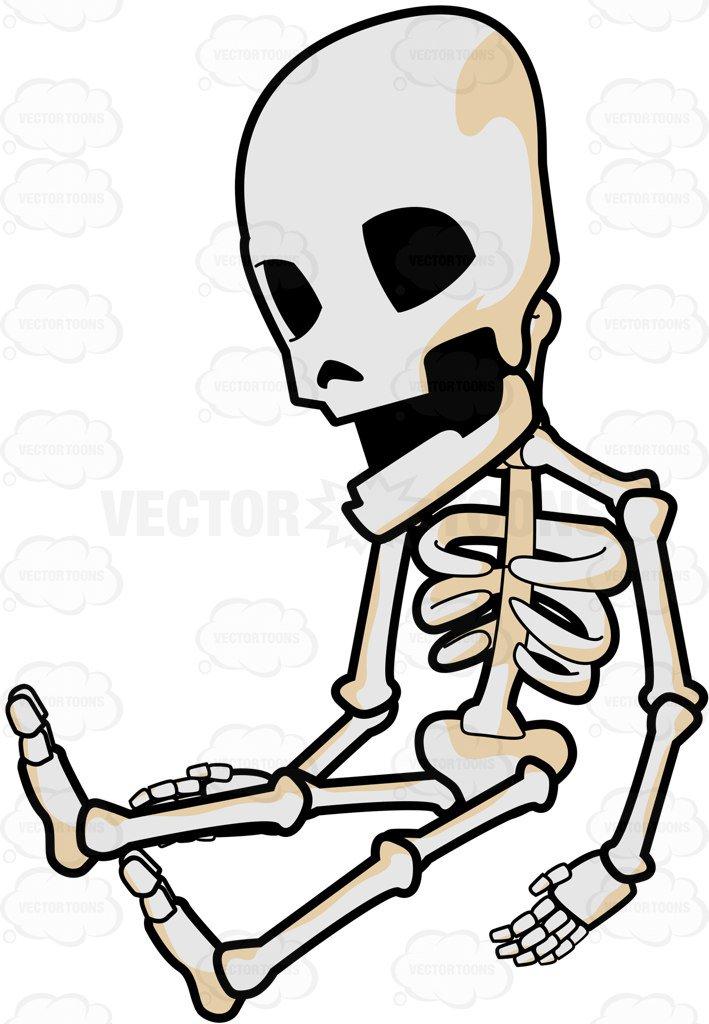 Fun Skeleton Cliparts.