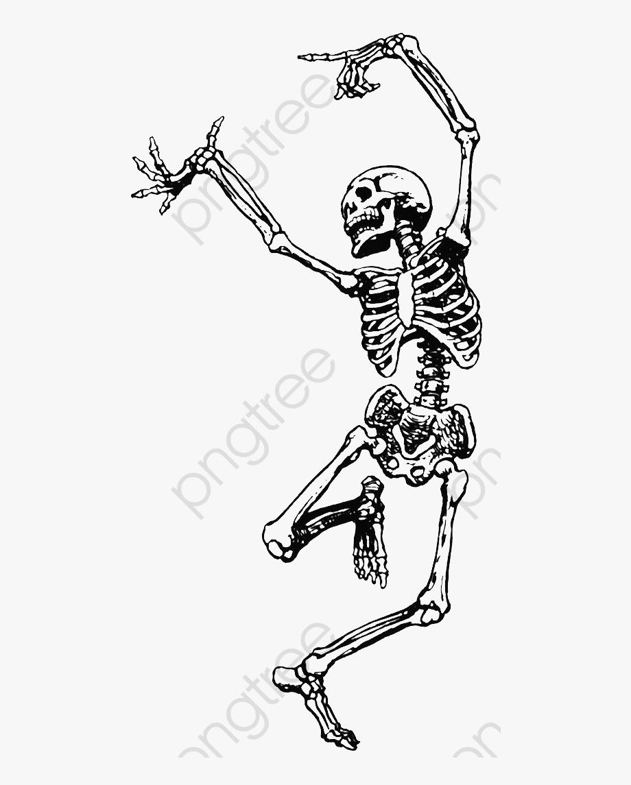 Skeleton Clipart Happy.