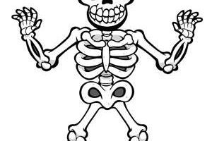 Skeleton clipart for kids 1 » Clipart Portal.