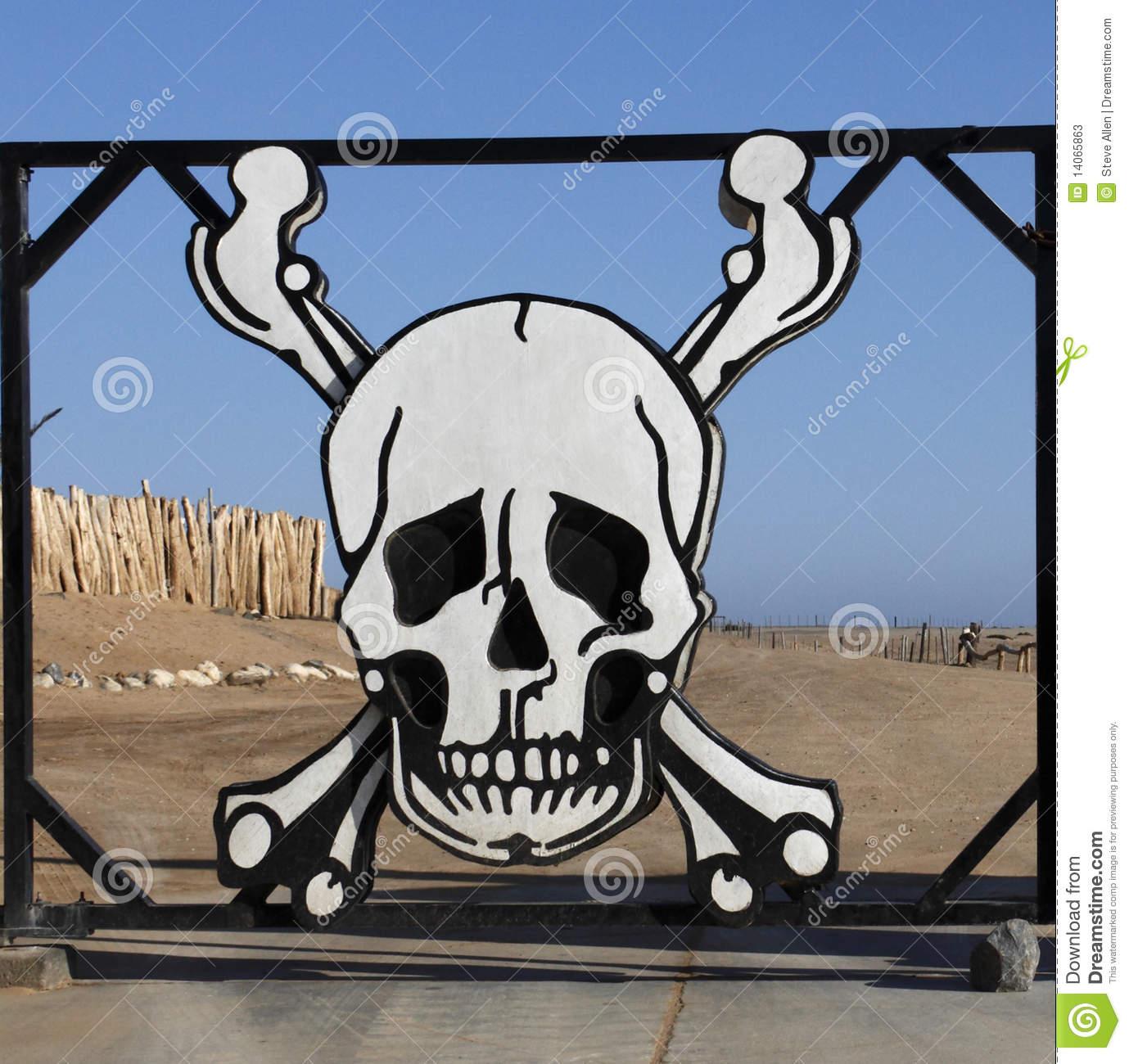 Skeleton Coast, Namibia Stock Photography.