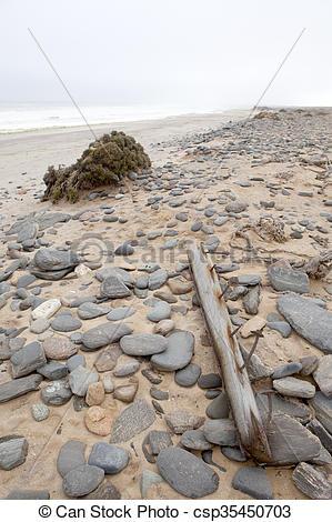 Stock Photography of Debris on Skeleton Coast csp35450703.
