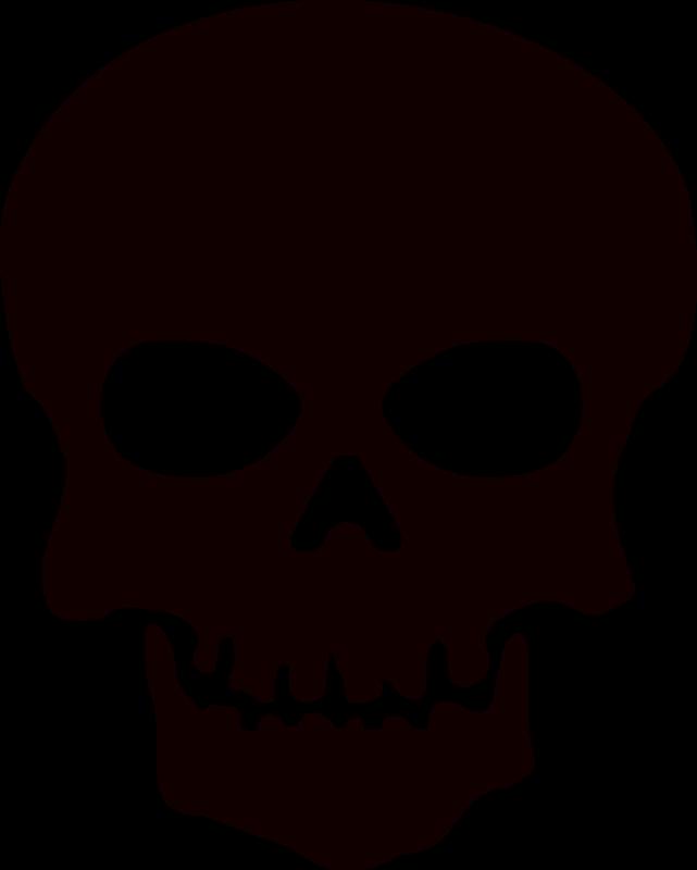 Skeleton Face Clip Art.