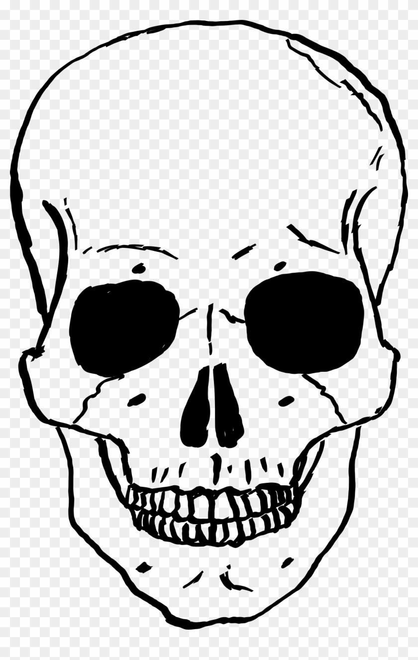 Skeleton Head Transparent.