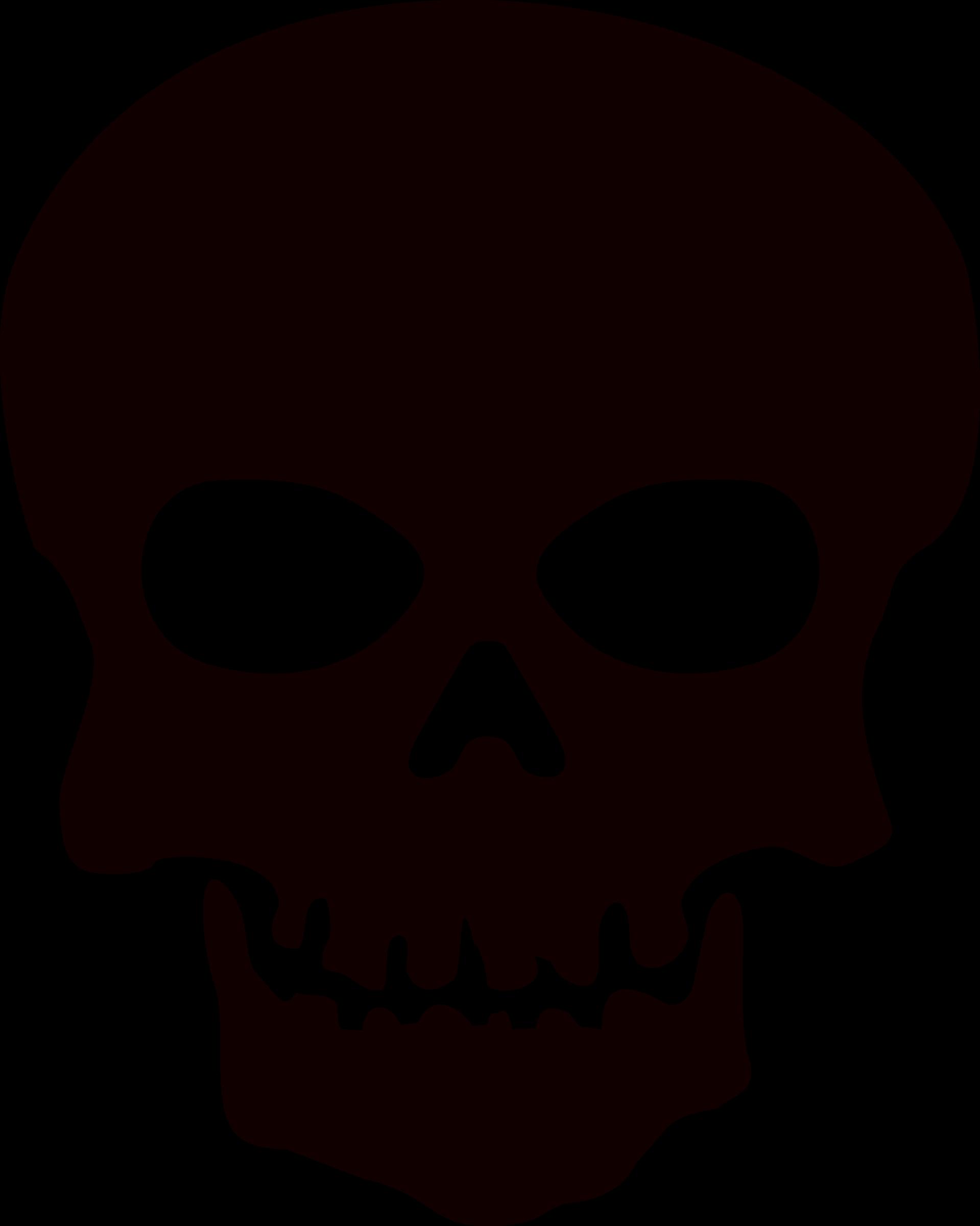 Skeleton, Skull PNG Image.