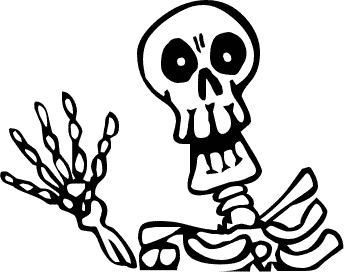 Free Skeletons Clipart. Free Clipart Images, Graphics.