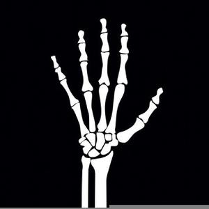 Clipart Skeleton Hand.